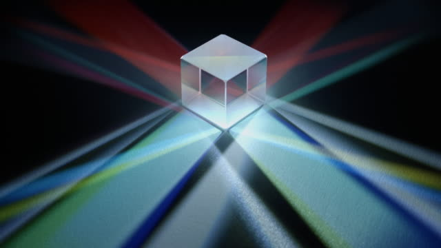 dichroic prism - refraction stock videos & royalty-free footage