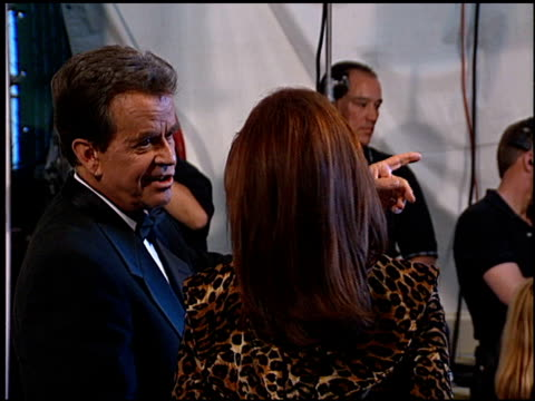 dick clark at the 1999 academy of country music awards at universal studios in universal city, california on may 5, 1999. - ユニバーサルシティ点の映像素材/bロール
