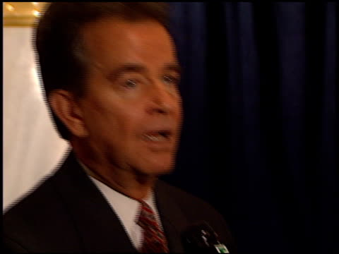 dick clark at the hfpa cecil b demille award at the beverly regent hotel in beverly hills california on november 16 2000 - cecil b. demille stock videos & royalty-free footage