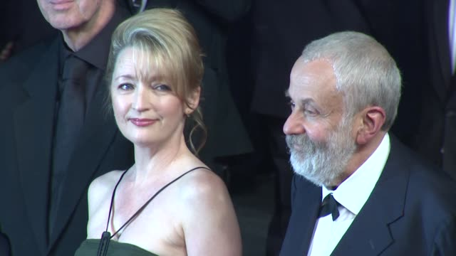 Dick Pope Lesley Manville Mike Leigh Georgina Lowe Ruth Sheen and actor Jim Broadbent at the Another Year Premiere Cannes 2010 Film Festival at Cannes