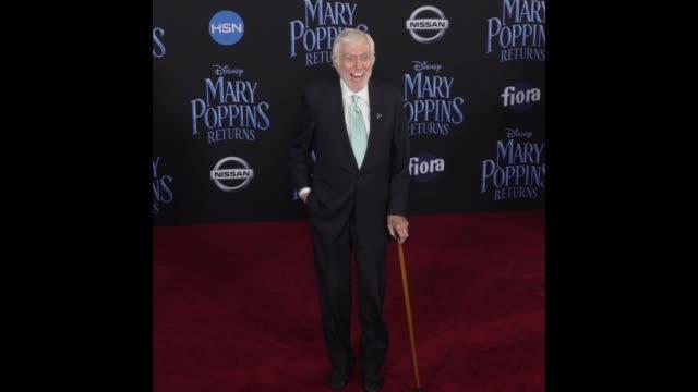 Dick Van Dyke at Disney's 'Mary Poppins Returns' World Premiere