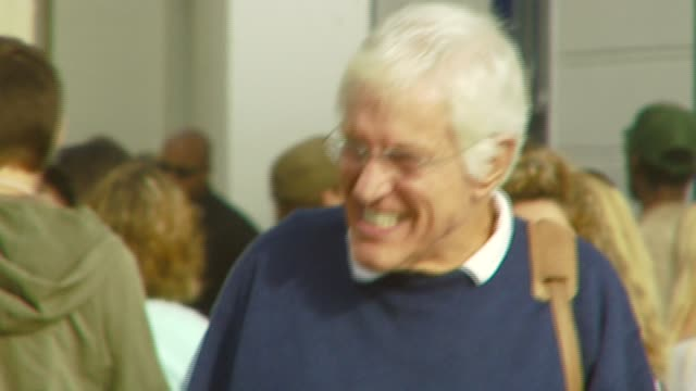 dick van dyke at the a day at the beach paddle out protest at malibu beach in malibu california on october 22 2006 - malibu beach stock videos & royalty-free footage