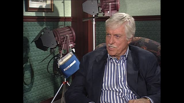 "dick van dyke on why he thinks the dick van dyke show remains timeless; ""i think the show has held up well because you don't ever hear a sixties joke... - eternity stock videos & royalty-free footage"