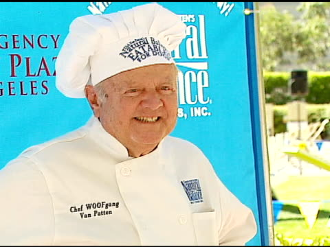 dick van patten at the dine with your dog day at the hyatt regency century plaza in century city, california on october 19, 2006. - hyatt regency stock videos & royalty-free footage