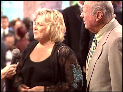dick van patten at the night of 100 stars oscar gala at the beverly hilton in beverly hills california on february 29 2004 - 76th annual academy awards stock videos & royalty-free footage