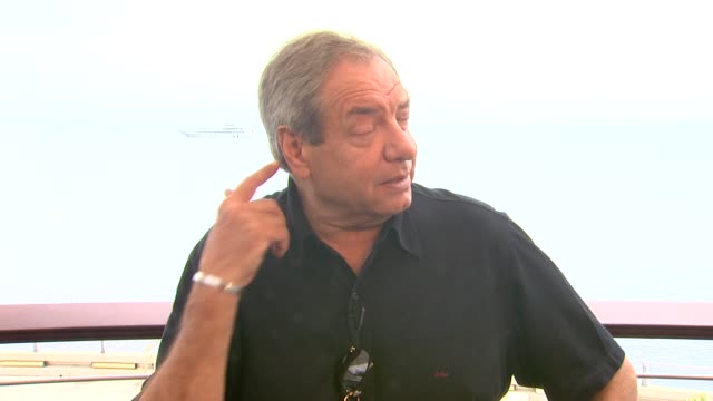 dick wolf on hoping to expand the law and order franchise to more countries at the 51st montecarlo television festival dick wolf interview at... - franchising stock-videos und b-roll-filmmaterial