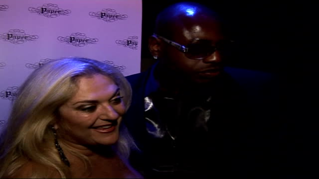 diddy's birthday party and 'press play' album launch arrivals; vanessa feltz interview sot - met diddy before / think he is the most elegant man with... - vanessa feltz stock videos & royalty-free footage