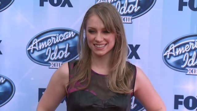 didi benami at american idol xiii 2014 finale at nokia theatre la live on may 21 2014 in los angeles california - didi benami stock videos and b-roll footage