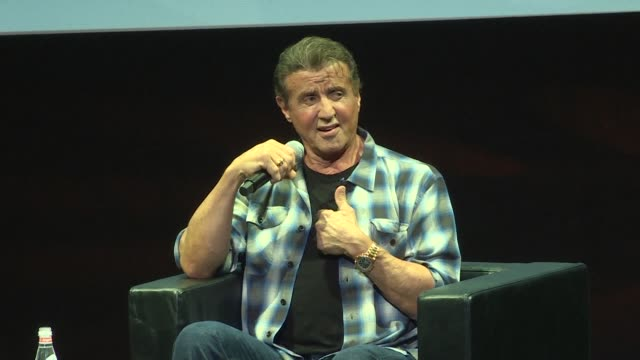 FRA: Cannes: Sylvester Stallone looks back on his career