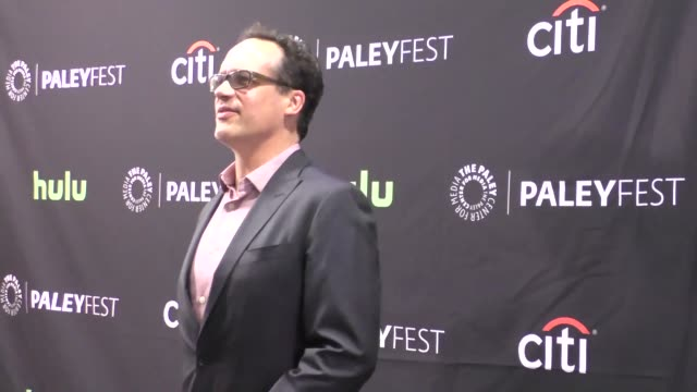diedrich bader at the paley center for media's paleyfest 2016 fall tv preview - abc at celebrity sightings in los angeles on september 10, 2016 in... - paley center for media los angeles stock videos & royalty-free footage