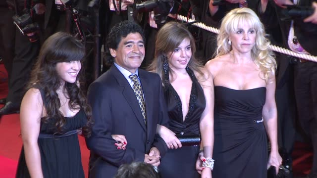 Diego Armando Maradona at the Cannes arrivals for 'Maradona' in Cannes on May 20 2008