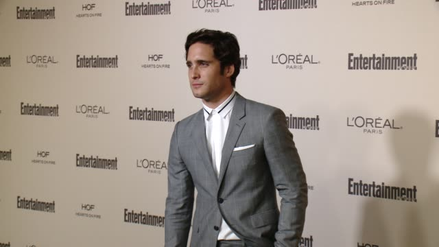 diego boneta at entertainment weekly's preemmy celebration at fig olive melrose place on september 18 2015 in west hollywood california - entertainment weekly stock videos and b-roll footage