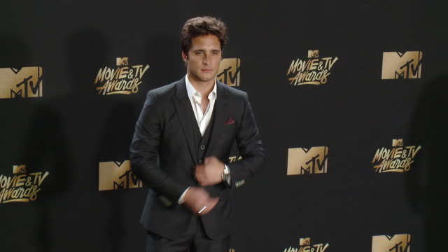 Diego Boneta at the 2017 MTV Movie TV Awards Red Carpet Arrivals on May 07 2017 in Los Angeles California