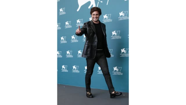 venice italy september 10 diego boneta attends the photocall of the movie nuevo orden at the 77th venice film festival on september 10 2020 in venice... - gif stock videos & royalty-free footage