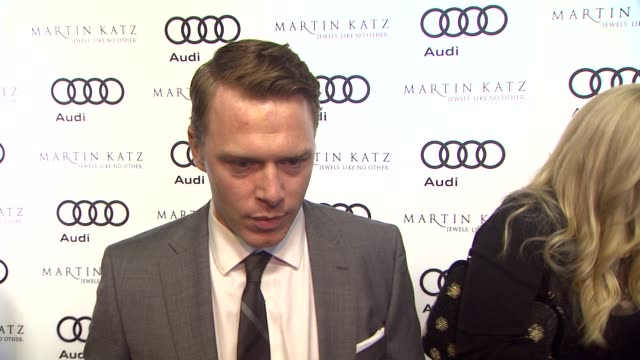 Diego Klattenhoff on kicking off Golden Globe week at this party what he's most looking forward to this evening at the Audi And Martin Katz Celebrate...