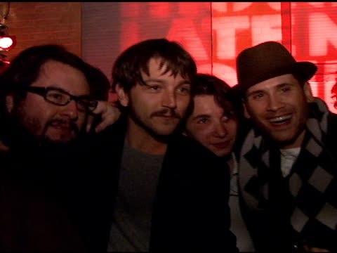 diego luna and marc ecko at the motorola and nintendo present the motorola late night lounge at sundance 2008 at null in park city utah on january 19... - marc ecko stock videos & royalty-free footage