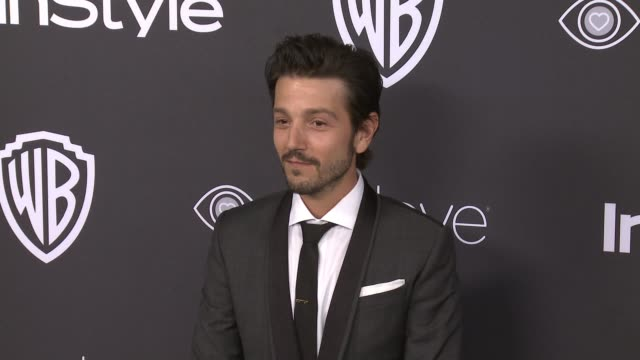 Diego Luna at 18th Annual InStyle And Warner Bros Pictures Golden Globes AfterParty at The Beverly Hilton Hotel on January 08 2017 in Beverly Hills...