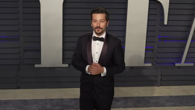 Diego Luna at 2019 Vanity Fair Oscar Party Hosted By Radhika Jones at Wallis Annenberg Center for the Performing Arts on February 24 2019 in Beverly...