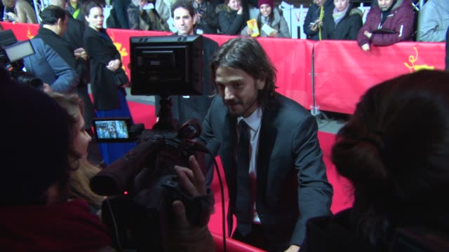 Diego Luna at 'Cesar Chavez' Red Carpet at Berlinale Palast on February 12 2014 in Berlin Germany