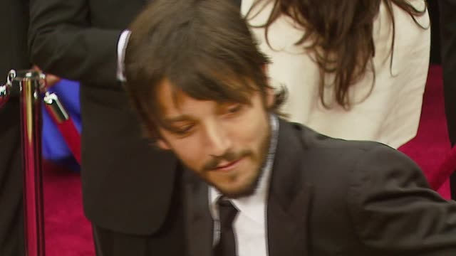 Diego Luna at the 2007 Academy Awards Arrivals at the Kodak Theatre in Hollywood California on February 25 2007