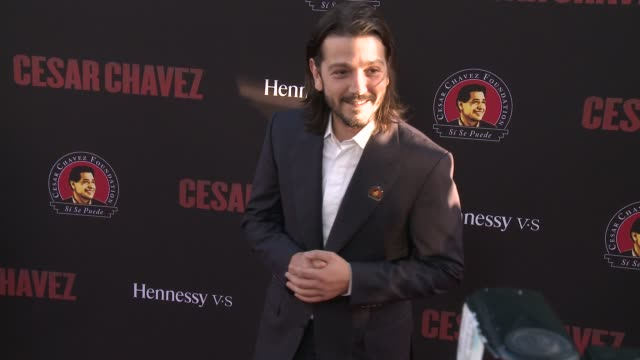 Diego Luna Cesar Chavez Los Angeles Premiere at TCL Chinese Theatre on March 20 2014 in Hollywood California