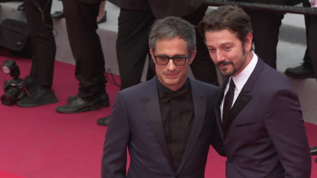 Diego Luna Gael Garcia Bernal at 'Once Upon a time in Hollywood ' Red Carpet Arrivals The 72nd Cannes Film Festival at Grand Theatre Lumiere on May...