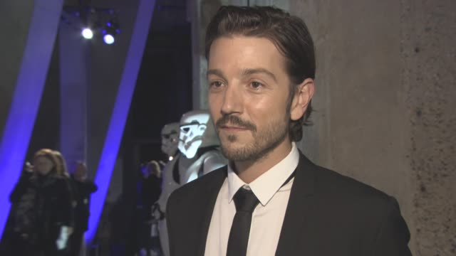 INTERVIEW Diego Luna on being part of a big film first time he got to shoot his gun at a storm trooper being different from the other 'Star Wars'...