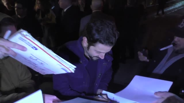 Diego Luna signs for fans outside the WME preOscar party in Los Angeles at Celebrity Sightings in Los Angeles on February 22 2019 in Los Angeles...
