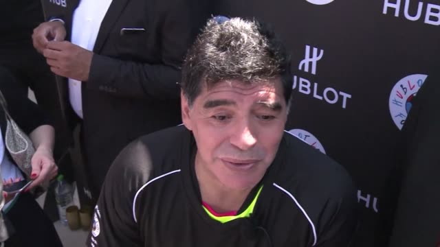 Diego Maradona on Thursday said disgraced ex UEFA president Michel Platini who quit over an ethics scandal knows what he did was wrong speaking after...