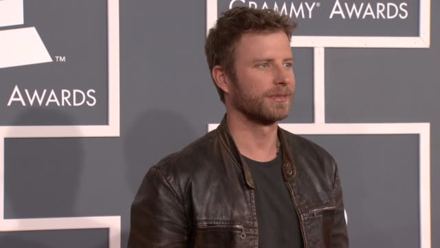 Dierks Bentley at 54th Annual GRAMMY Awards Arrivals on 2/12/12 in Los Angeles CA