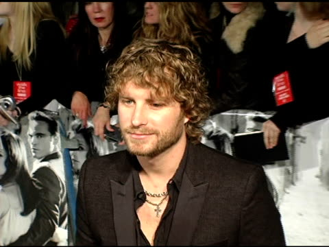 Dierks Bentley at the 'Walk The Line' New York Premiere at the Beacon Theater in New York New York on November 13 2005