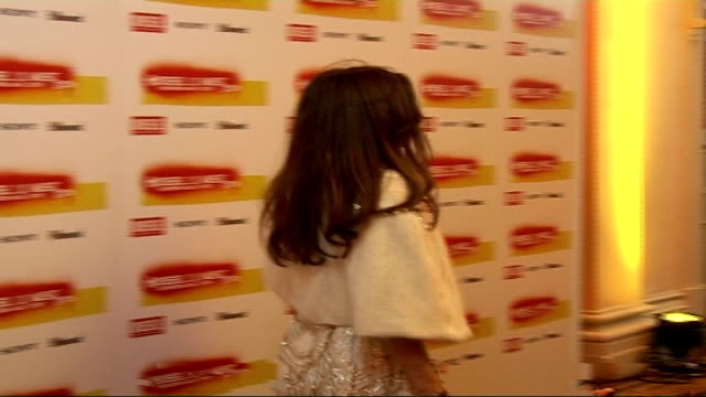 DieselUMusic Awards 2006 interviews General views of Anna Friel posing for photocall **flash photography** / Anna Friel interview SOT On films Goal 2...