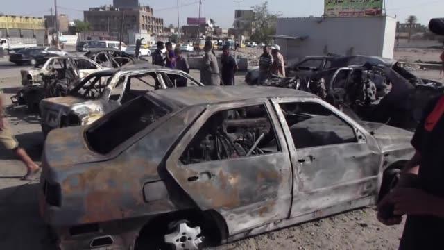 diez personas murieron este miercoles en irak llevando a 119 el numero de muertos en tres dias voiced atentados en irak 10 muertos on july 03 2013 in... - numero stock videos & royalty-free footage