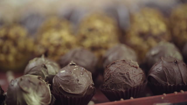 different kinds of dessert - chocolate factory stock videos & royalty-free footage