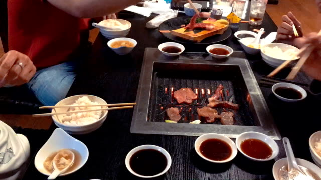 Different Meat And Beef For Bar B Que Buffe Grill In Buffet Restaurant