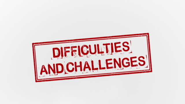 difficulties and challenges - disability icon stock videos & royalty-free footage