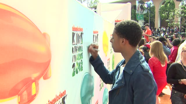 Diggy Simmons at Nickelodeon's 25th Annual Kids' Choice Awards on 3/31/2012 in Los Angeles CA