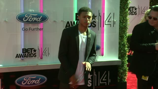 Diggy Simmons at the 2014 BET Awards on June 29 2014 in Los Angeles California