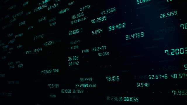 vídeos de stock, filmes e b-roll de conceito abstrato digital, rede de cryptocurrency - escorrer