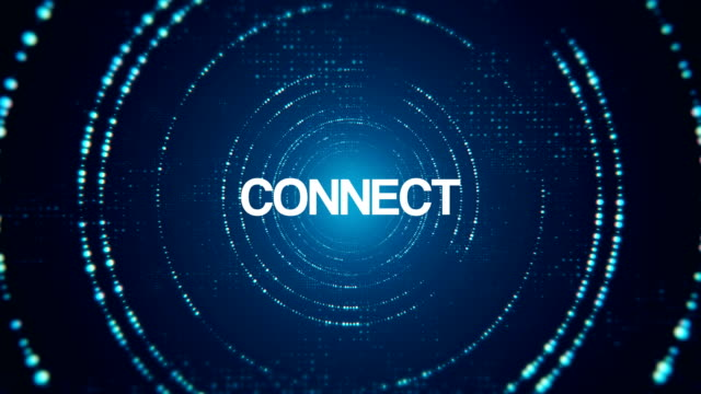 vidéos et rushes de tunnel de connexion résumé numérique et des affaires - plan très rapproché