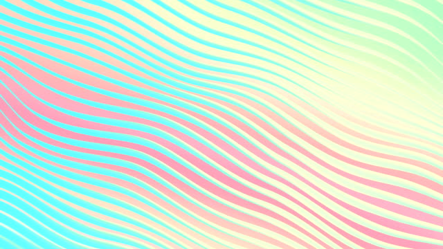 digital abstract flowing waves seamless loop animation - colour gradient stock videos and b-roll footage