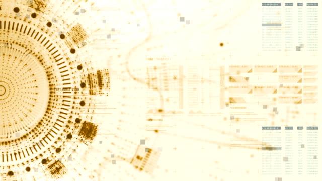 vídeos de stock, filmes e b-roll de forma de onda digital abstrata partículas - material