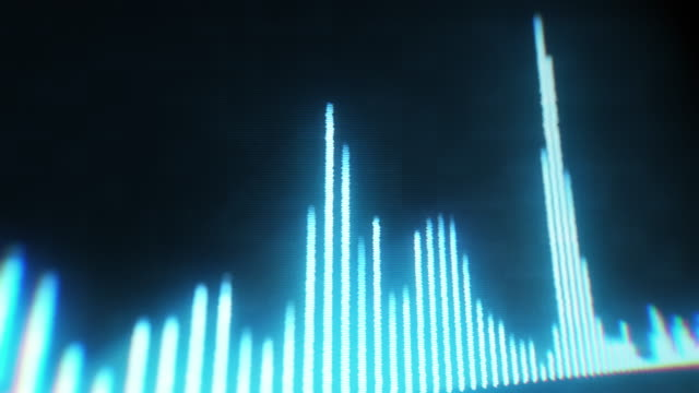 vídeos y material grabado en eventos de stock de ecualizador de audio digital - frecuencia