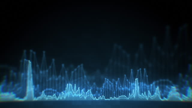 digital audio equalizer - spectrum stock videos & royalty-free footage