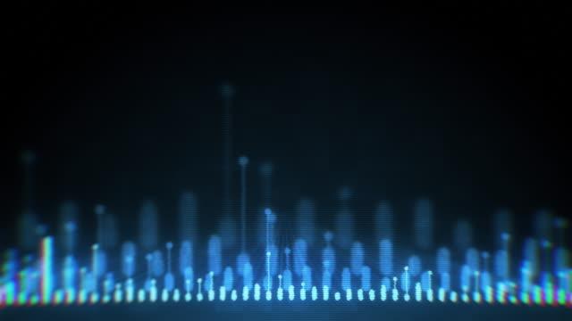 digital audio equalizer - spectrum stock videos & royalty-free footage