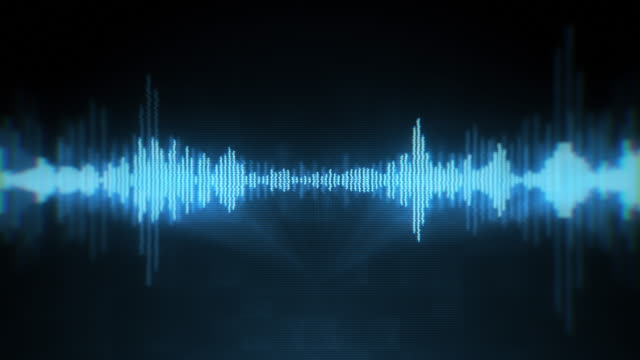 digital audio equalizer - voice stock videos & royalty-free footage