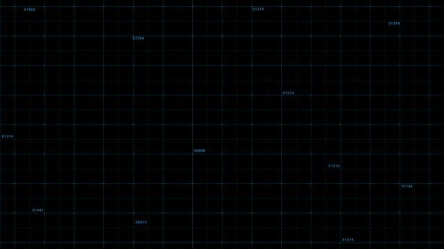 Digital background - HUD stock video