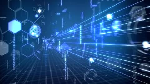 デジタル背景。 - 内部点の映像素材/bロール