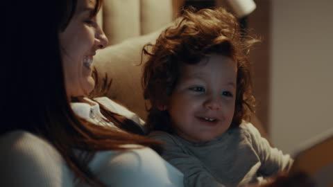 digital bedtime story - fairy tale stock videos & royalty-free footage