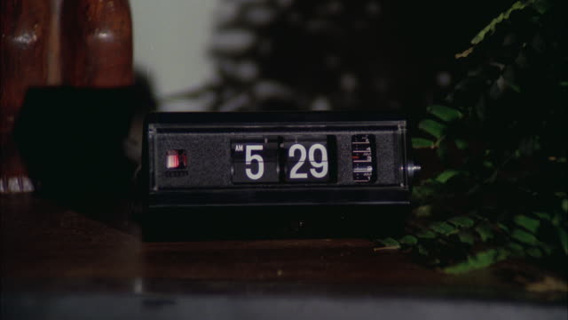 CU Digital clock on desk